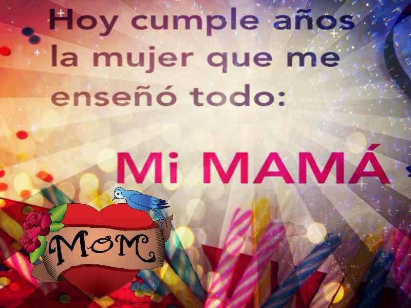 Mensajes Y Frases De Cumpleanos Para Una Mama